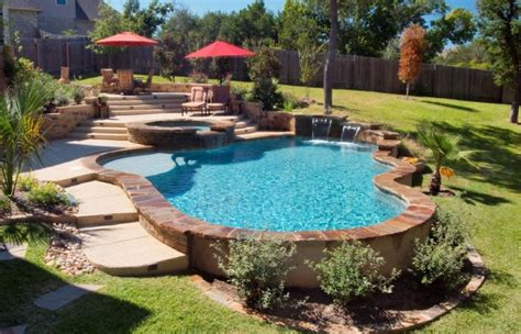 Home Swimming How Much Do Inground Pools Cost 2018 How To Make A Pool In Your Backyard