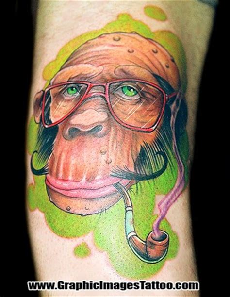 grease monkey tattoo baba tala ink monkey
