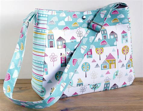 pattern for sewing a bag diaper bag pattern petite street nappy bag sewing pattern