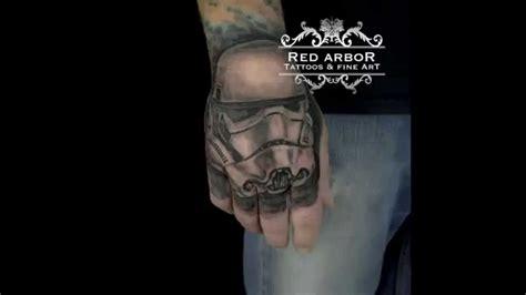 hand tattoo youtube star wars tattoo on hand youtube