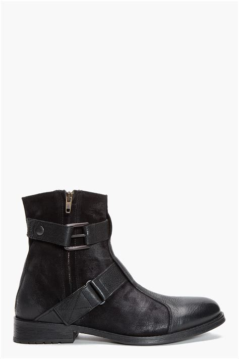 arizona boots lyst ksubi arizona boots in black for