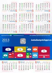 desain kalender meja dengan coreldraw kalender meja 2013 download desain gratis