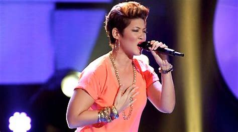 Tessanne Chin Nude - pin songstress tessanne chin auditions for nbcs the voice