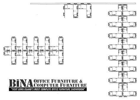 Cubicle Floor Plan by Bina Office Furniture Queens Nyc Cubicle Floor Plan