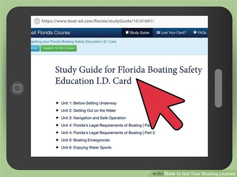 how to get your boating license how to get your boating license 10 steps with pictures