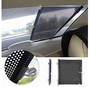 Retractable Car Auto Front Rear Windshield Sun Shade Cover