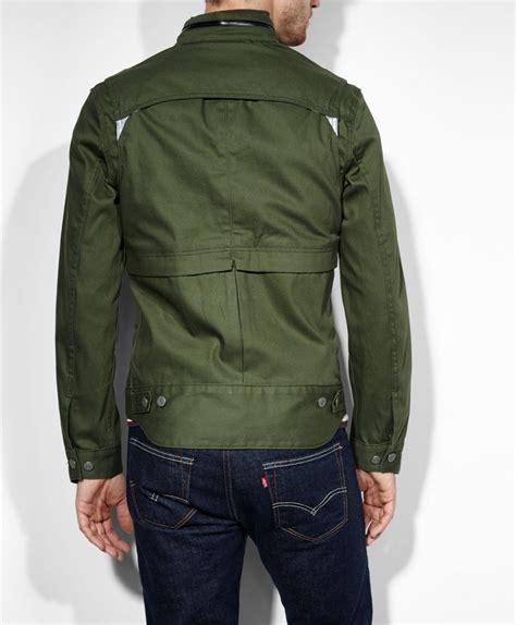 Jaket Levis Hoodi levi s levis 174 commuter hooded trucker jacket forest slim fit truckers s fashion