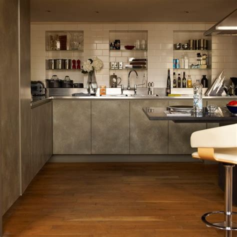 kitchen alcove ideas alcove storage kitchen stylish london apartment house