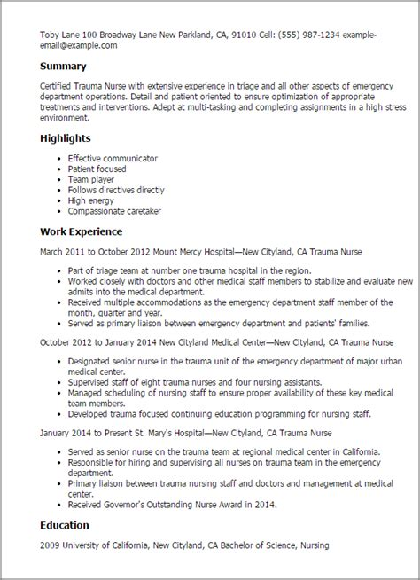 Emergency Room Social Worker Sle Resume by Sle Er Resume Nursing Assistant And Cna Resume Cover Letter Resume Template Sle