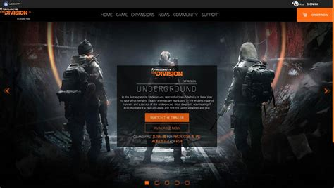 Bd Ps4 The Division the division 的 dlc underground 终于登录 ps4 wanuxi
