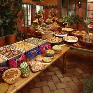 buffet style dinner menu ideas 1000 ideas about mexican buffet on mexican