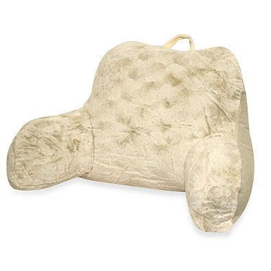 bed backrest pillow with pockets fluffy bed rest pillow bed rest bed rest pillow back support arm faux fur soft cushion tv