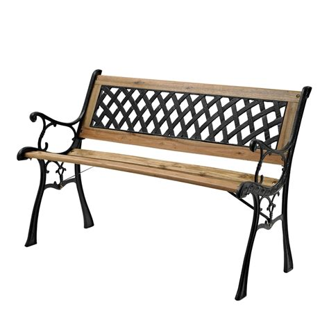 bunnings garden bench marquee lattice back timber park bench bunnings warehouse