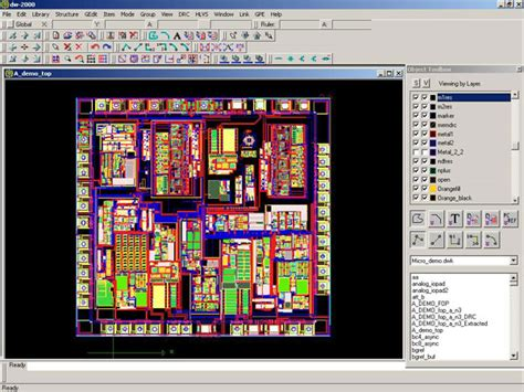 layout editing a flexible feature rich cad environment