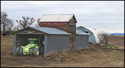 Landscape Rake Spokane Tractor Shed Landscape Rural Photos Don Slackwater