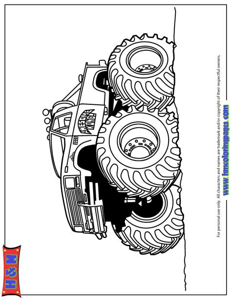 bigfoot monster truck coloring pages monster truck jam coloring pages hot girls wallpaper
