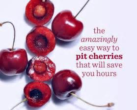 the amazingly easy way to pit cherries that will save you