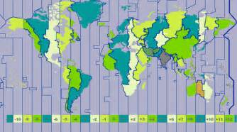 Gmt Time Zone Map by How Many Time Zones Are There In The World