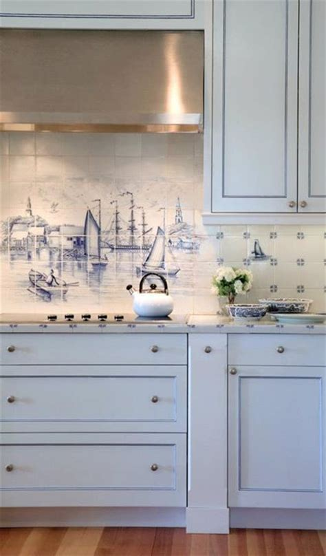 Kitchen Tile Murals Tile Art Backsplashes by 10 Beach Backsplash Ideas Sand And Sisal