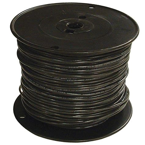 southwire 1000 ft 3 0 black stranded thhn wire 20507001
