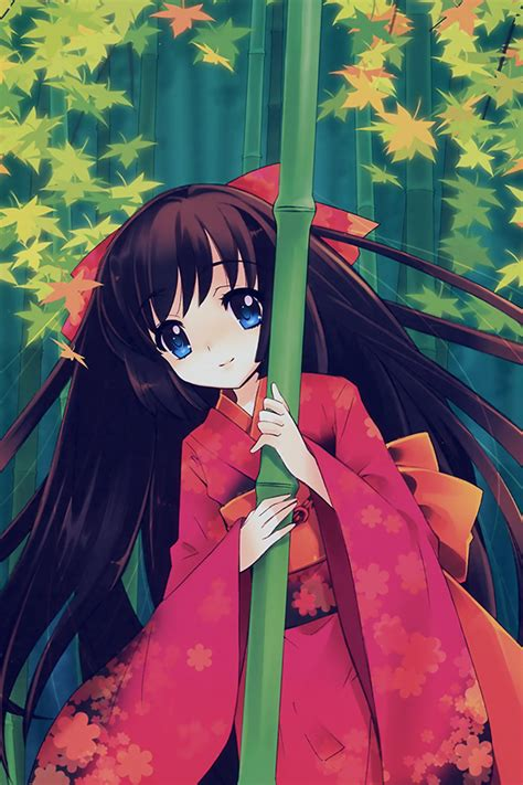 aq anime girl japan art cute illustraion wallpaper