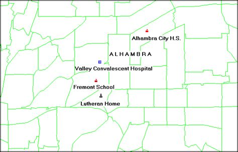 hud section 108 alhambra consolidated plan for 1995 executive summary