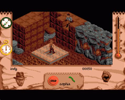 emuparadise action games indiana jones and the fate of atlantis the action game rom