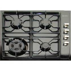 24 inch cooktops verona vectg424se 24 inch drop in gas cooktop black