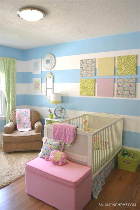 bright baby nursery design dazzle