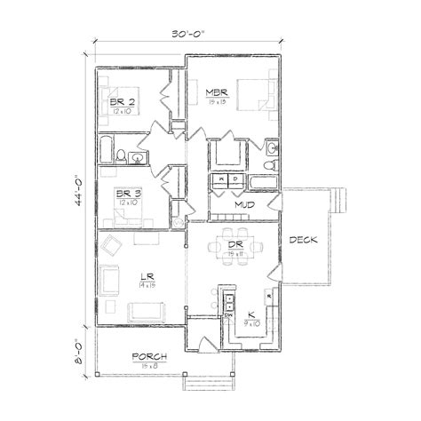 bungalo floor plan jones ii bungalow floor plan tightlines designs