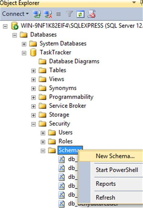 Sql Server Change Table Schema Sql Server 2014 Database Schemas