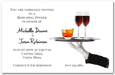cocktail invitation cards templates exles of wedding invitations free premium templates