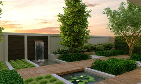 modern backyard designs modern garden design modern magazin