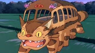 car guy cat bus neighbor totoro