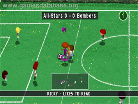 backyard soccer ps1 backyard soccer sony playstation games database
