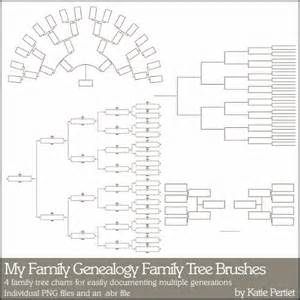 family tree template for pages family history fanatics heritage scrapbooking family
