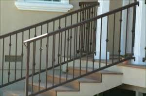 Ornamental Stair Railings by Wrought Iron Hand Railing