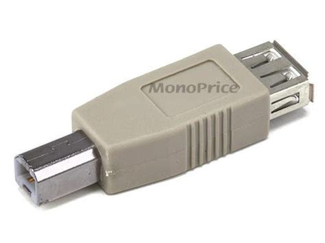 Usb Adapter usb 2 0 a b adapter monoprice