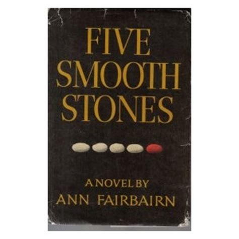 smooth a story books five smooth stones by fairbairn and books