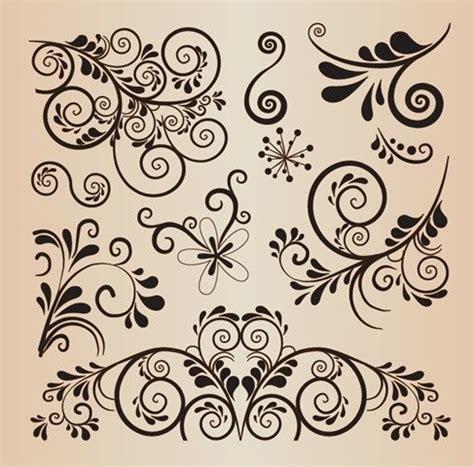 decorative design psd free floral decorative design vector elements psd files