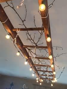 Tree Branch Light Fixture come riciclare vecchie scale a pioli refresh