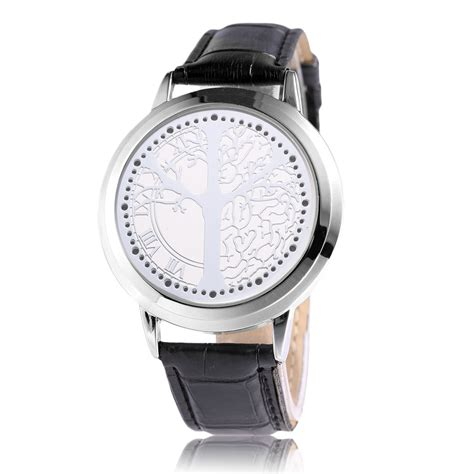 led touch screen digital leather