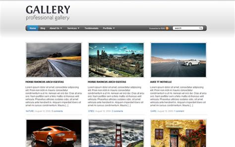 top 25 wordpress themes for photographers 121clicks com