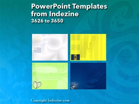 Powerpoint Templates From Indezine 146 Designs 3626 To 3650 Indezine Indezine Powerpoint Templates