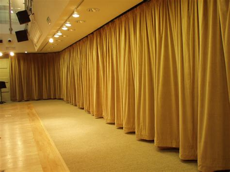 sound absorbing curtain acoustic curtains