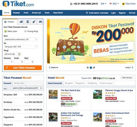 Tiket Kereta Dan Pesawat tiket pesawat promo tiketcom ticket booking tiket