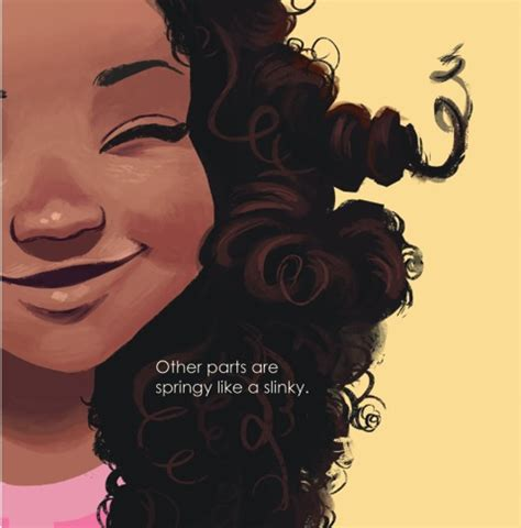 curly hairstyles book children s book emi s curly coily cotton candy hair