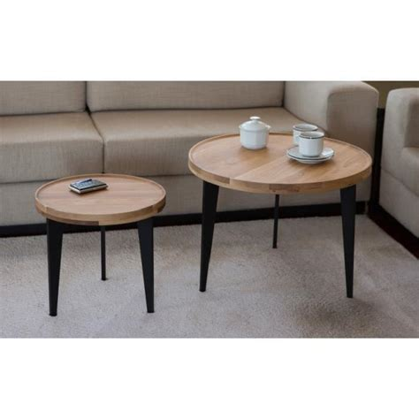 Table Basse Gigogne But by Table Basse Gigogne Chene Le Bois Chez Vous