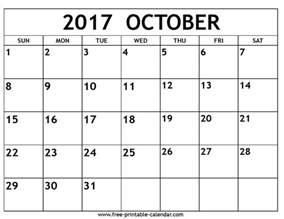 free october calendar template october 2017 calendar printable template with holidays