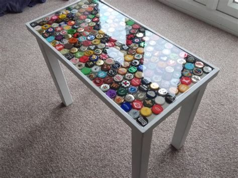 bottle cap table designs how to create a colorful table bottle caps